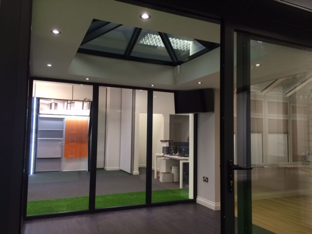 See our Skyroom at our Cardiff Showroom