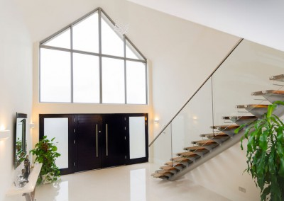 Entrance hall gable - Interior