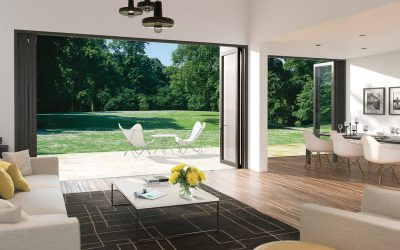 How thermally efficient are bi-folding doors?