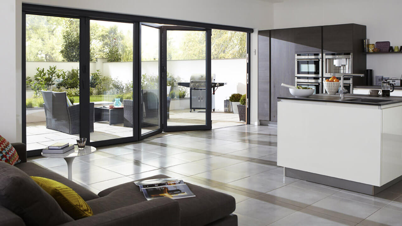 Aesthetically pleasing bi-folding doors
