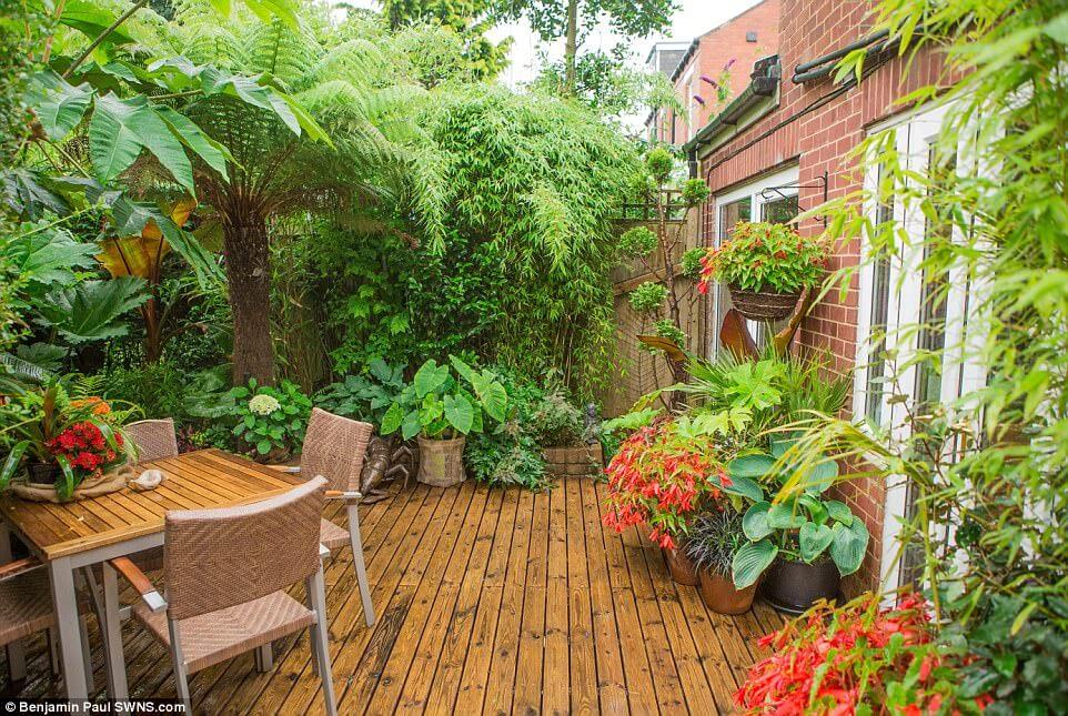 Garden 5 after