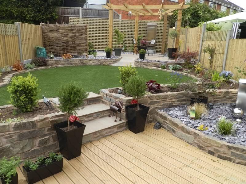 Garden 3 after