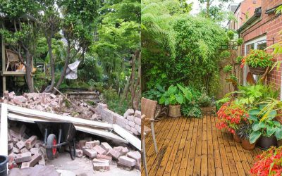 10 shocking before-and-after garden transformations