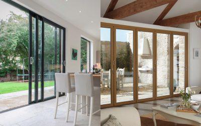 Bi-fold doors vs. patio sliding doors – What's best for you?