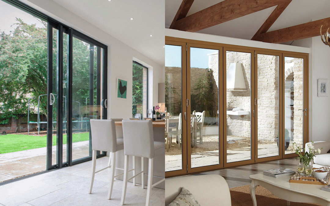 Bi-fold doors vs. patio sliding doors – What's best for you?