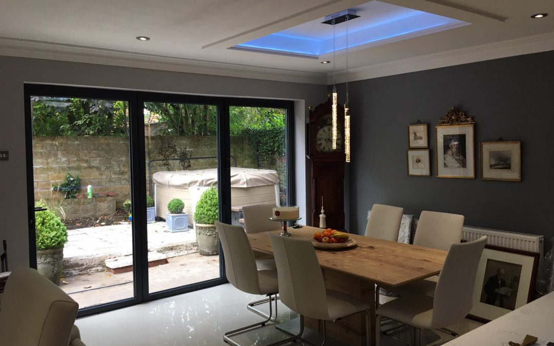 Will you need planning permission before installing bi-folding or sliding doors?