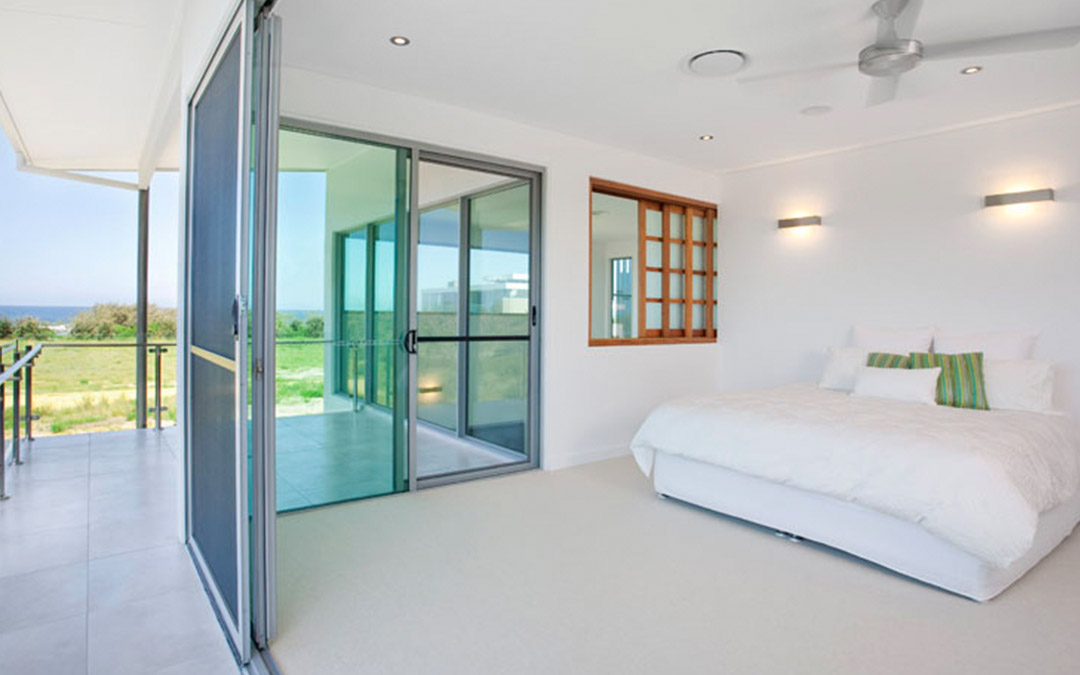 Sliding doors home